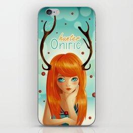 Oniric hunter iPhone Skin