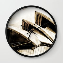 Sydney Opera House  Collection IV Wall Clock