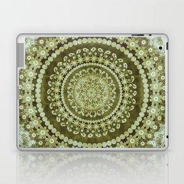 Boho Matcha Mandala Laptop & iPad Skin