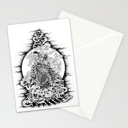 Howling Wolf Stationery Cards