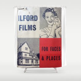 For Faces & Places Shower Curtain