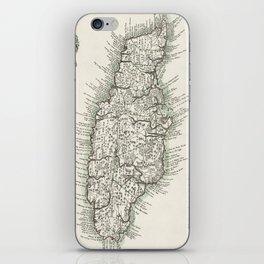 Map of Jamaica - 1780 iPhone Skin