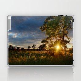 Golden Hour on the Prairie Laptop & iPad Skin