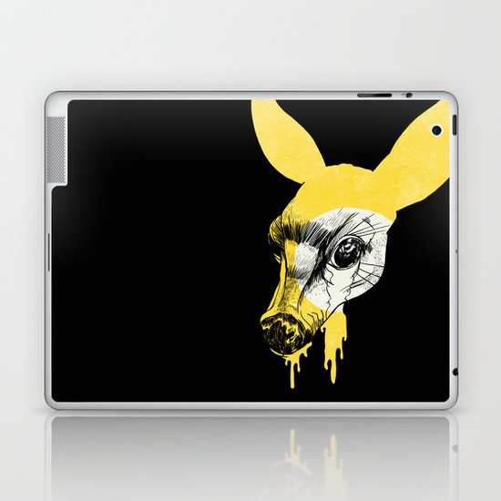 Fawn in Headlight Laptop & iPad Skin
