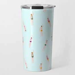 Swimmers in the pool Travel Mug