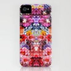 Crystal Floral iPhone (4, 4s) Slim Case
