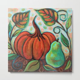 Little Pumpkin 2 Metal Print