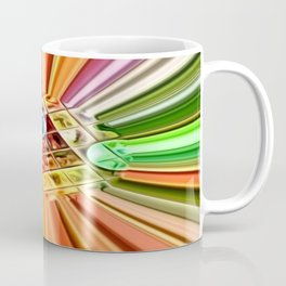 Mosaic Striations Coffee Mug