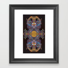 A Bad Case of the Visions. Framed Art Print