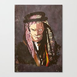 "two face ""ARABIAN  Style "" Canvas Print"