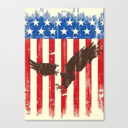proud american Canvas Print