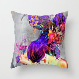 Apparent Throw Pillow