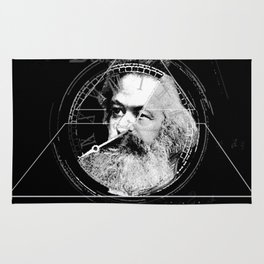 The Time of Marx Dark Rug