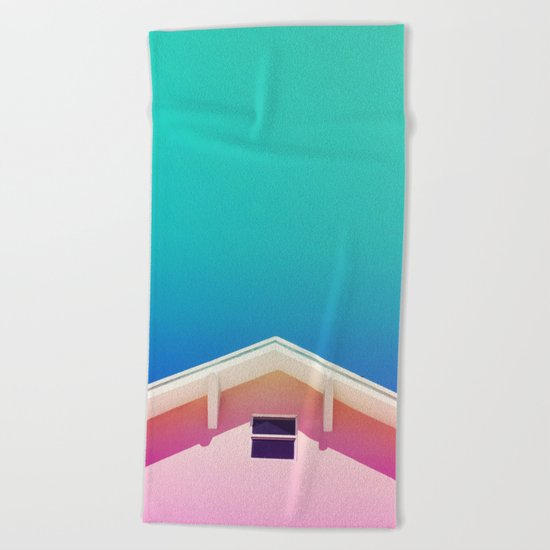 Miami Sky Beach Towel