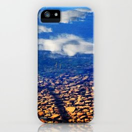 Sky Pebbles iPhone Case