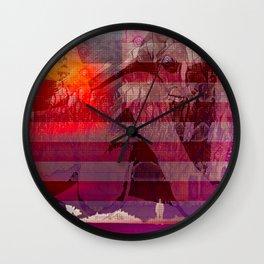 Fast Fading Star Wall Clock