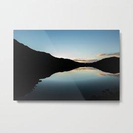 Nordkapp sunset Metal Print
