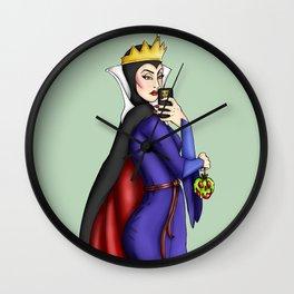 Selfie Evil Queen Snow White Wall Clock