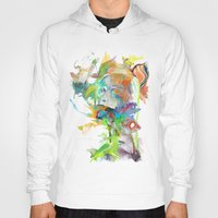 archan nair Hoodies featuring Morning Echo by Archan Nair
