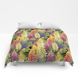Lupine thickets Comforters