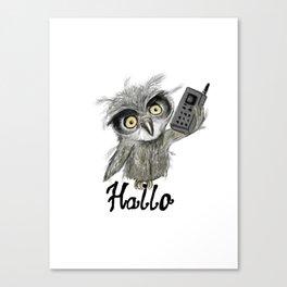 mobil Canvas Print