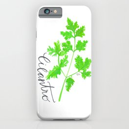 Cilantro Garden Art iPhone Case