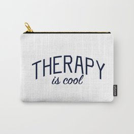 Therapy is Cool - for Mental Health Awareness Carry-All Pouch