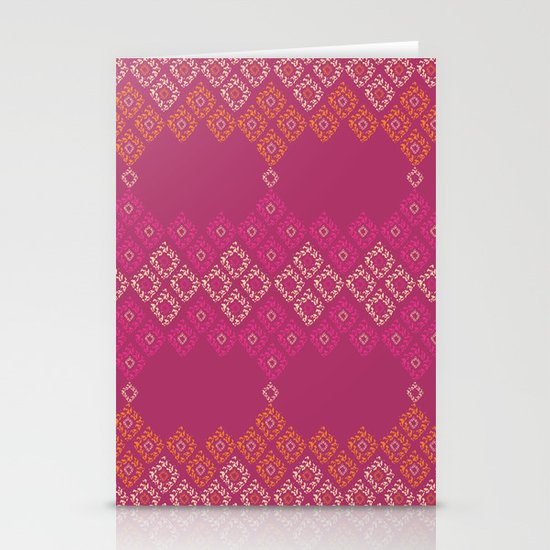 Moroccan Geo Stationery Cards