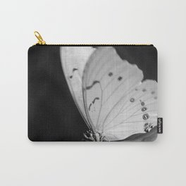 Papillon B/W Carry-All Pouch