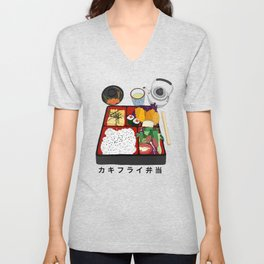 Japanese Bento Box Unisex V-Neck