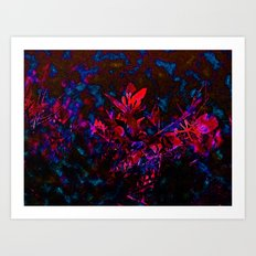 Nature Melds with Technology Art Print