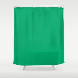 Jade Green Shower Curtain