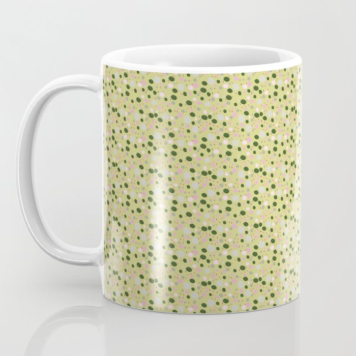 Rose Colored Circles Coffee Mug