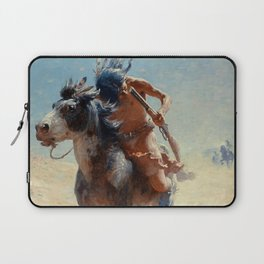 "William Leigh Western Art ""Indian Rider"" Laptop Sleeve"
