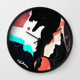Painted on my cow Wall Clock