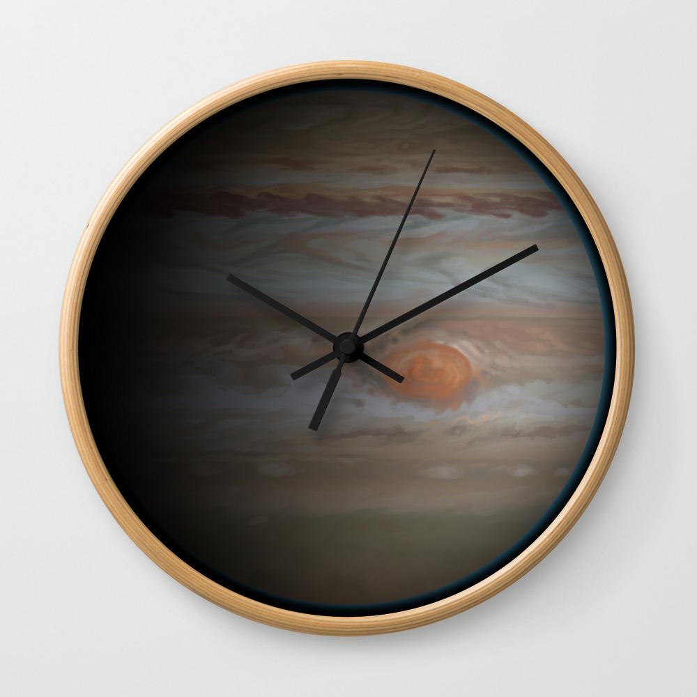 Wall Clock Planet Jupiter