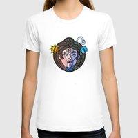shiva T-shirts featuring Shiva Parvati by Karthik
