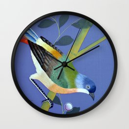 don't let the sun blast your shadow: chinois 1848 Wall Clock