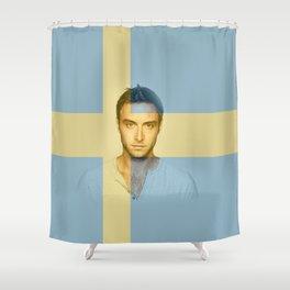 ESC Sweden 2015 Shower Curtain