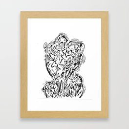 Smerk Framed Art Print