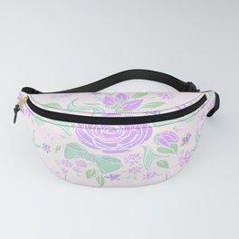 Sweet Rose Lavender Fanny Pack