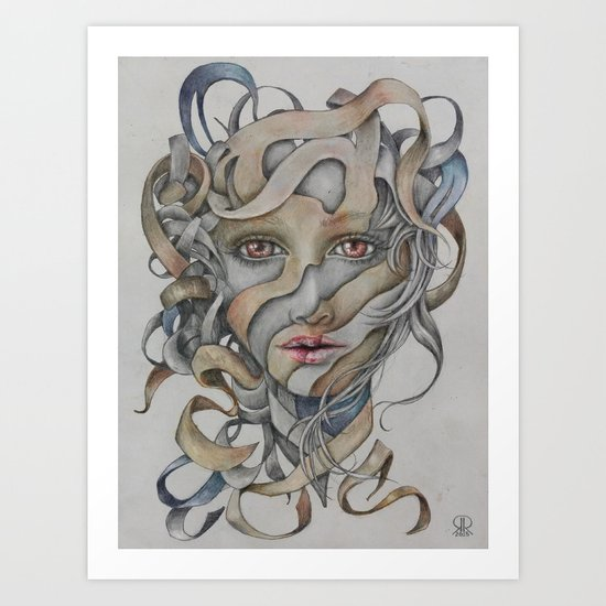 Troubles Art Print