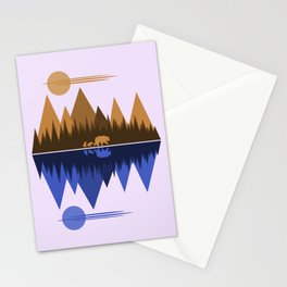Bear & Cubs Stationery Cards