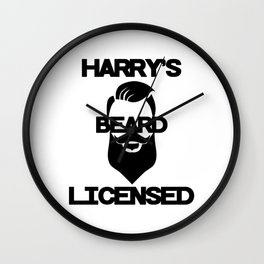 Harry's Beard Licensed Wall Clock