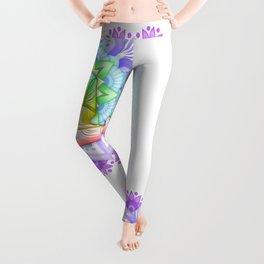 Color Mandala Leggings