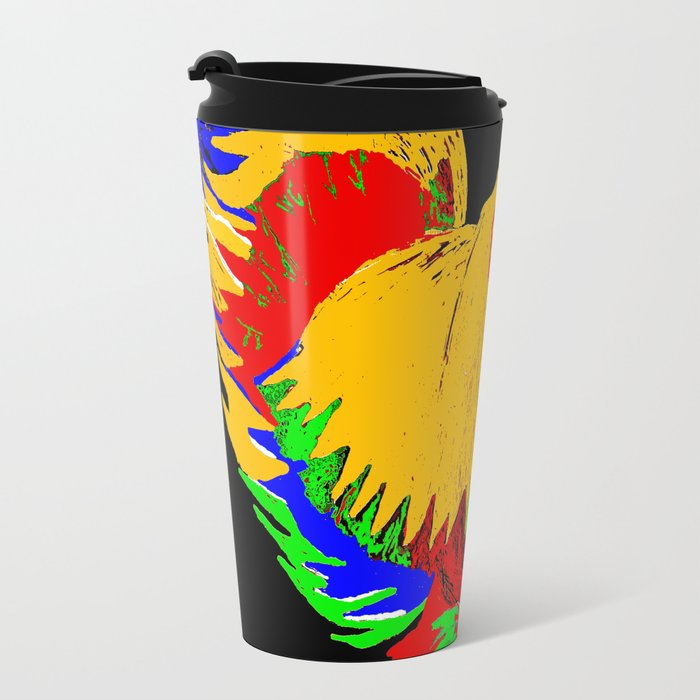 ROOSTER Metal Travel Mug