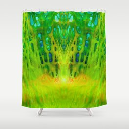 acrylic mirror Shower Curtain