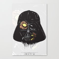 Vader Zombie Canvas Print