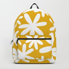 Tiare Flower Yellow Backpack