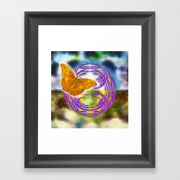 The wind beneath my wings Framed Art Print
